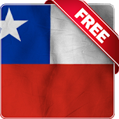 Chile flag Free live wallpaper