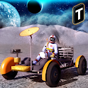Space Moon Rover Simulator 3D icon
