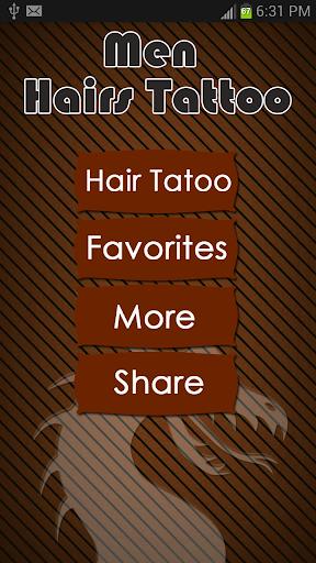 Men Hairstyle Tattoo