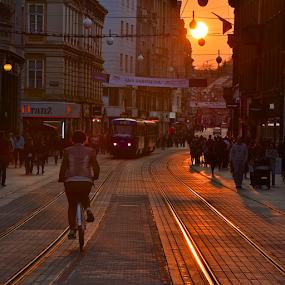 29.03.'14 Zagreb by Filip Caric - City,  Street & Park  Street Scenes