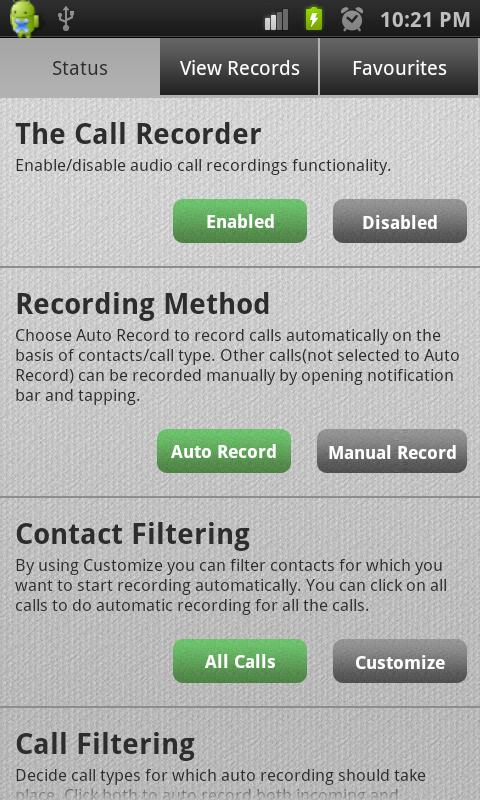 The Call Recorder Pro - screenshot