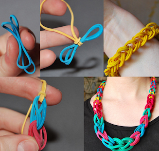 How To Rubber Band Bracelets - screenshot thumbnail