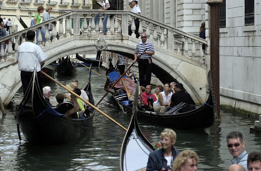 JFvenice-trafficjam - Venice traffic jam.