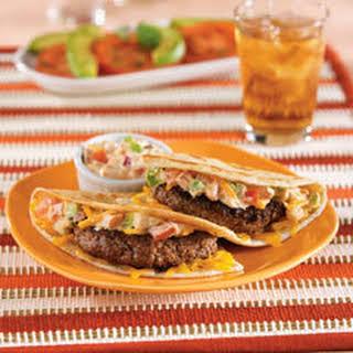 Nicole's Quesadilla Burgers.