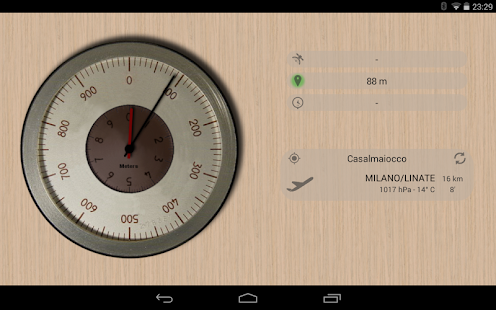Accurate Altimeter PRO- screenshot thumbnail