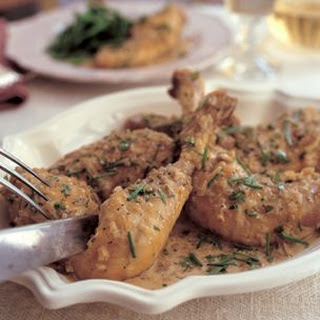 Sautéed Chicken in Riesling