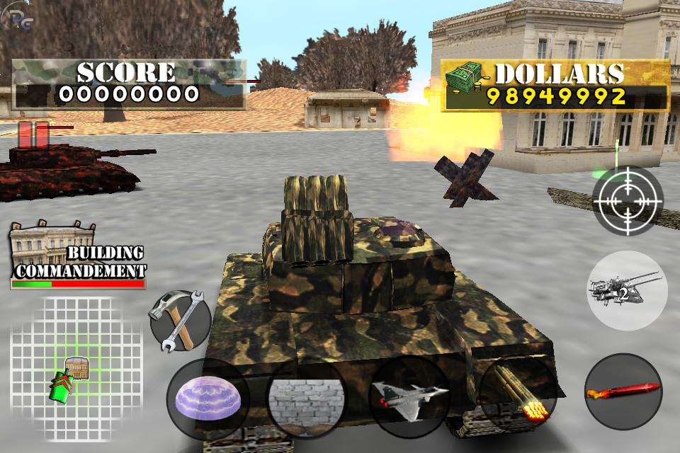 Tank War Defender 2- screenshot