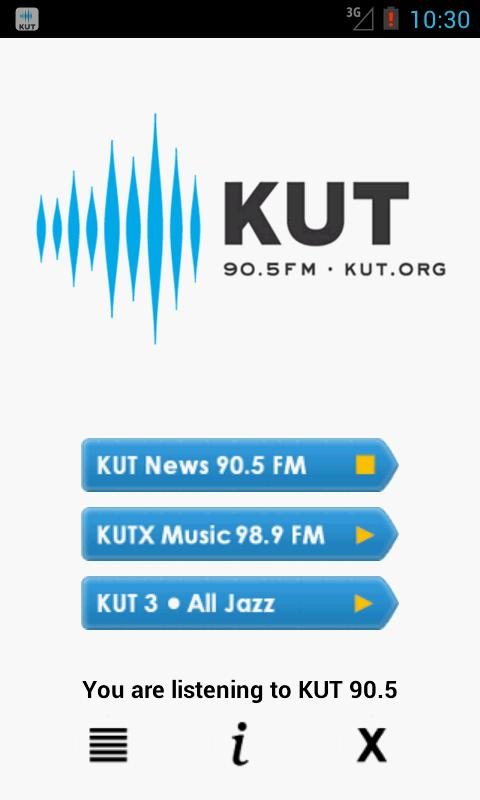 KUT 90.5 Music, News, & NPR - screenshot
