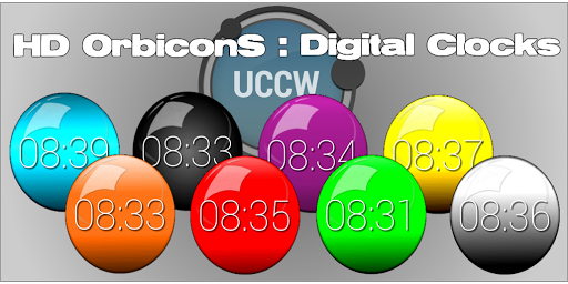 UCCW OrbiconS Digital Clocks