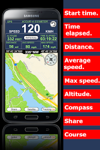GPS Speedometer Altimeter  + screenshot 1