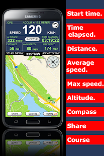 GPS Speedometer Altimeter  +- screenshot thumbnail