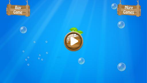 子供のための魚のスクラッチ水泳