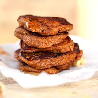 Pumpkin Spice Protein Pancakes.