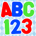 Kids ABC 123 Shapes Games Fun icon