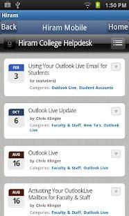 Hiram College - screenshot thumbnail