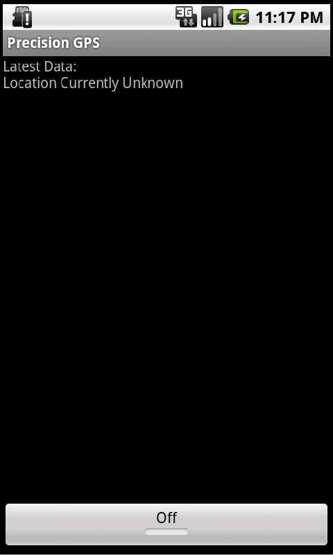 Precision GPS- screenshot