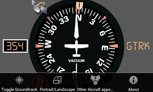 Aircraft Compass Free - screenshot thumbnail