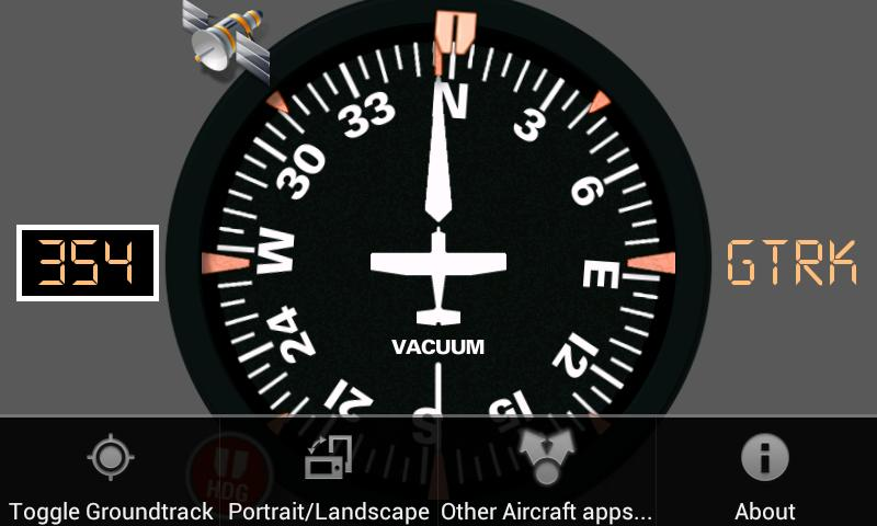 Aircraft Compass Free- screenshot