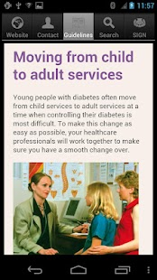 SIGN Diabetes Patient Guide - screenshot thumbnail