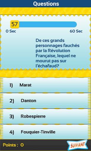【免費益智App】CGF Quizz Français-APP點子