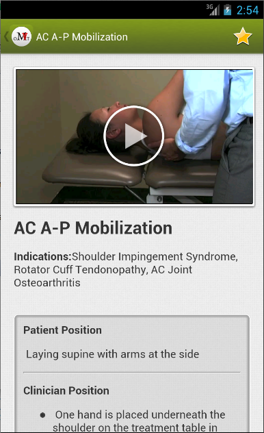 Mobile OMT Upper Extremity- screenshot