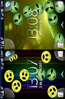 Screenshot of Funny Faces Live Wallpaper