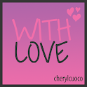 With Love Go Launcher icon