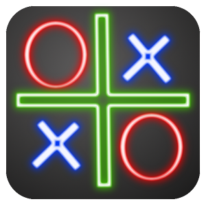Tic Tac Toe neon for PC and MAC