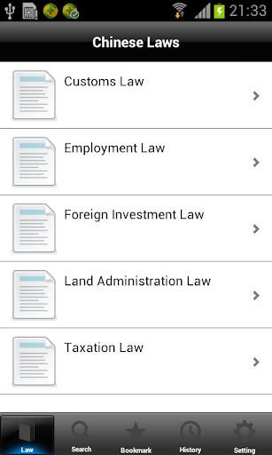 Chinese Laws Employment Law