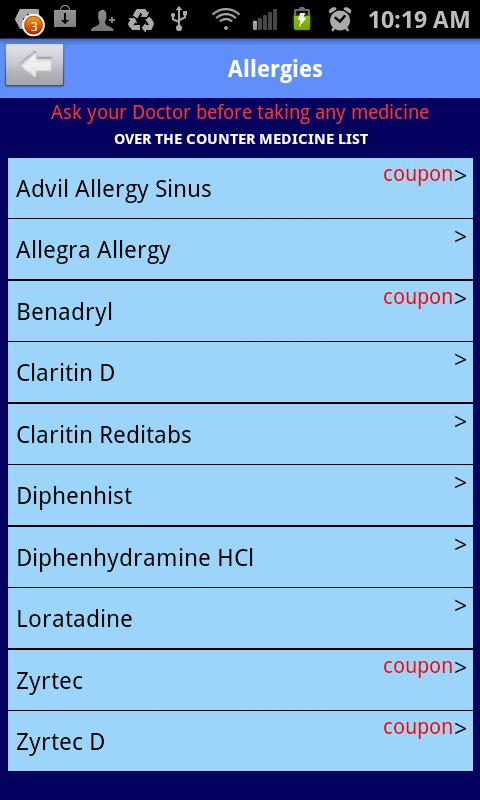 OTCplus:Over the counter drugs - screenshot