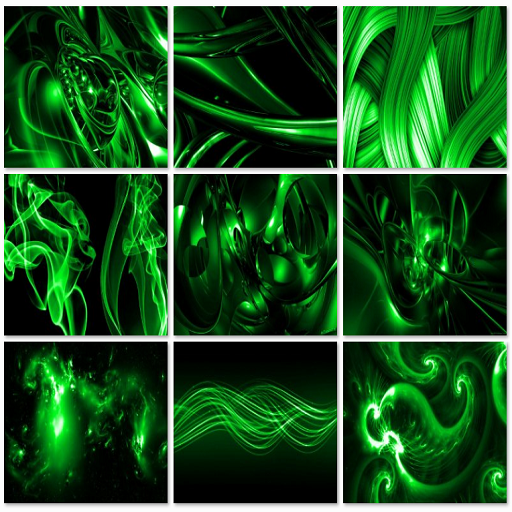 Abstract Wallpaper (Green) LOGO-APP點子