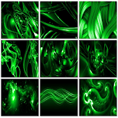 Abstract Wallpaper (Green)