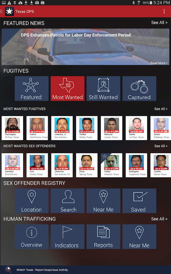 Texas dps sex offender registry pics 73
