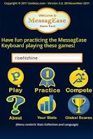 Screenshot of Italian MessagEase Wordlist