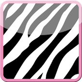 Cute Pink Zebra Keyboard Skin