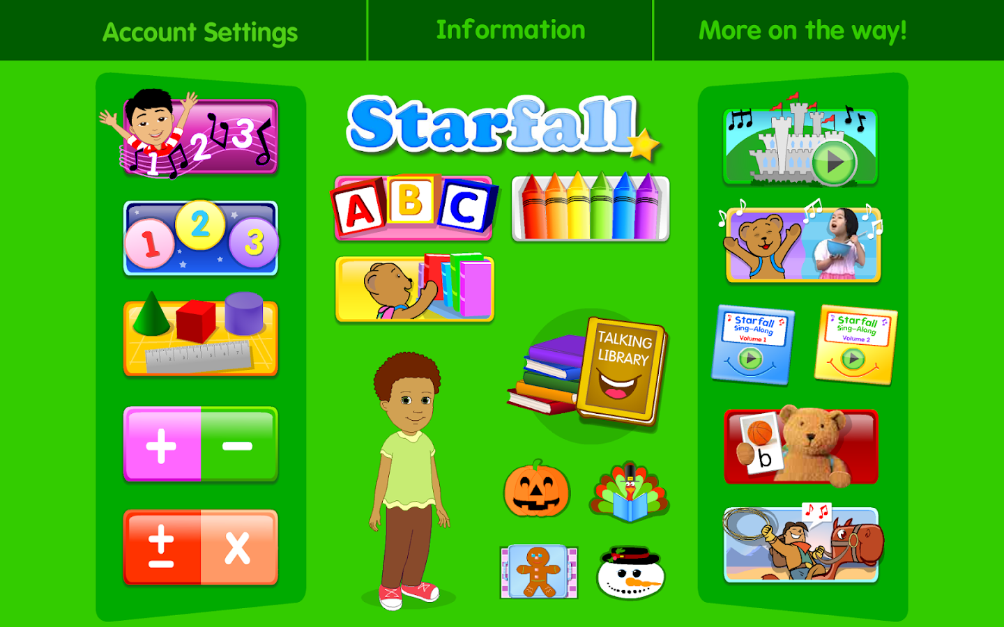 Starfall Free Screenshot
