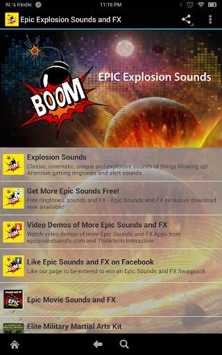 Epic Explosion Sounds