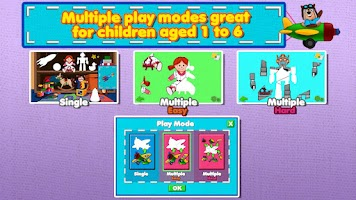 Screenshot of Awesome Shape Puzzles for Kids