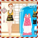 Korean Girl Dressup icon