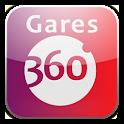 Gares360 logo