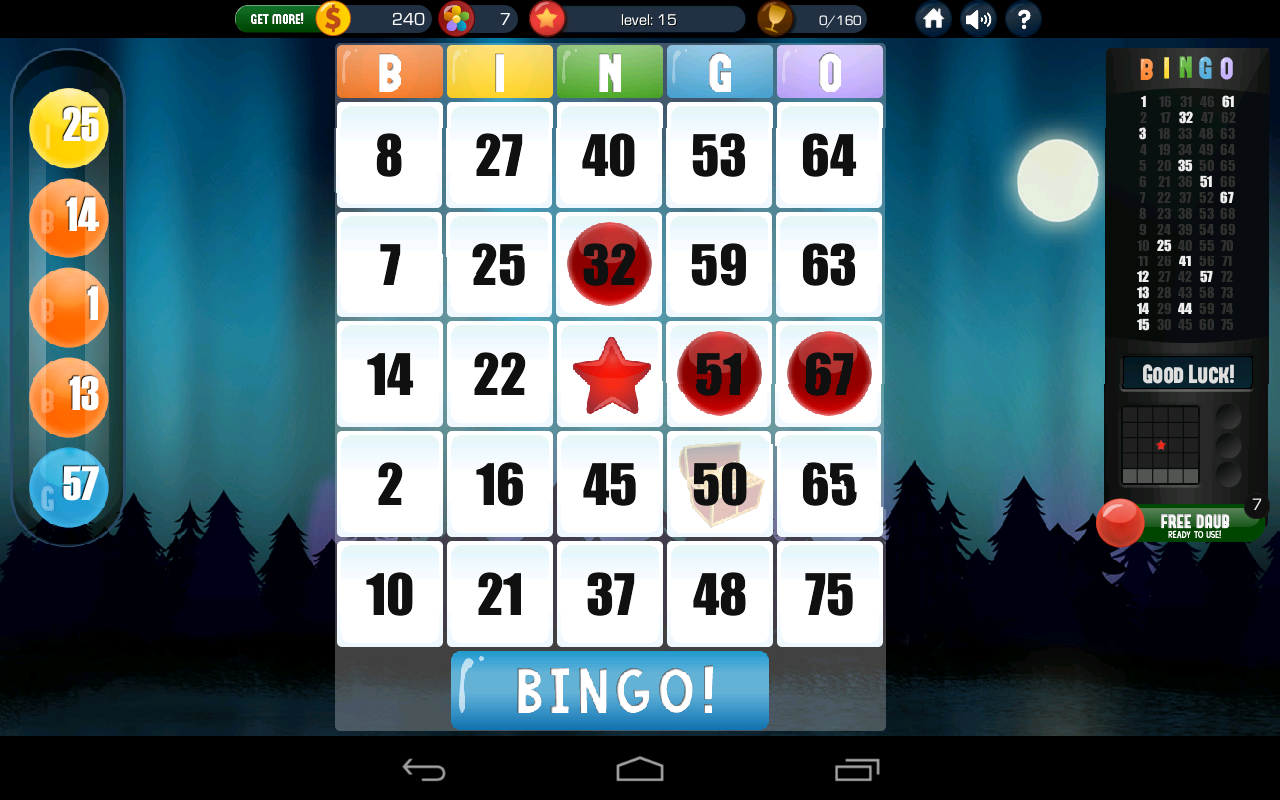 Absolute Bingo - free bingo - screenshot