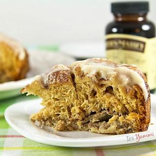 Slow Cooker Cinnamon Roll Casserole #VanillaWeek