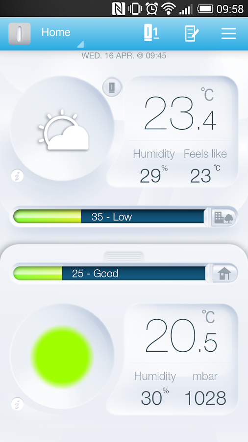 netatmo weather station android apps on google play. Black Bedroom Furniture Sets. Home Design Ideas