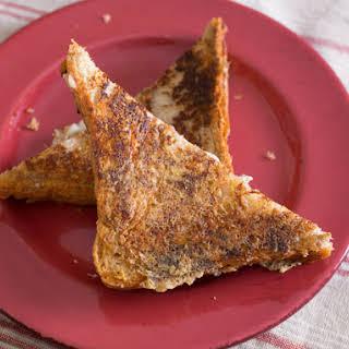 Crisp Grilled Cheese Sandwich.