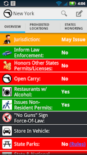 Concealed Carry Weapon Laws- screenshot thumbnail