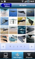 Screenshot of Aircraft Recognition Quiz