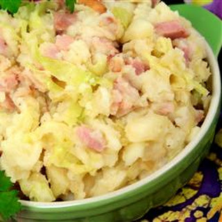 Fabulous Colcannon (Mashed Potatoes and Cabbage).