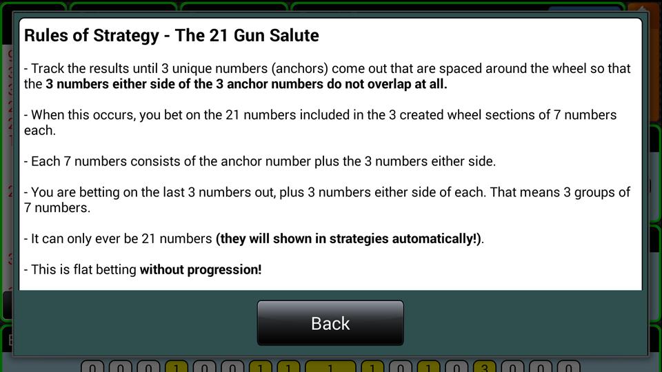 Smart Roulette Tracker - screenshot