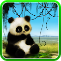 Animated Panda Live Wallpaper icon