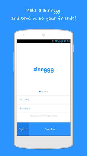 zinnggg - send vibrations